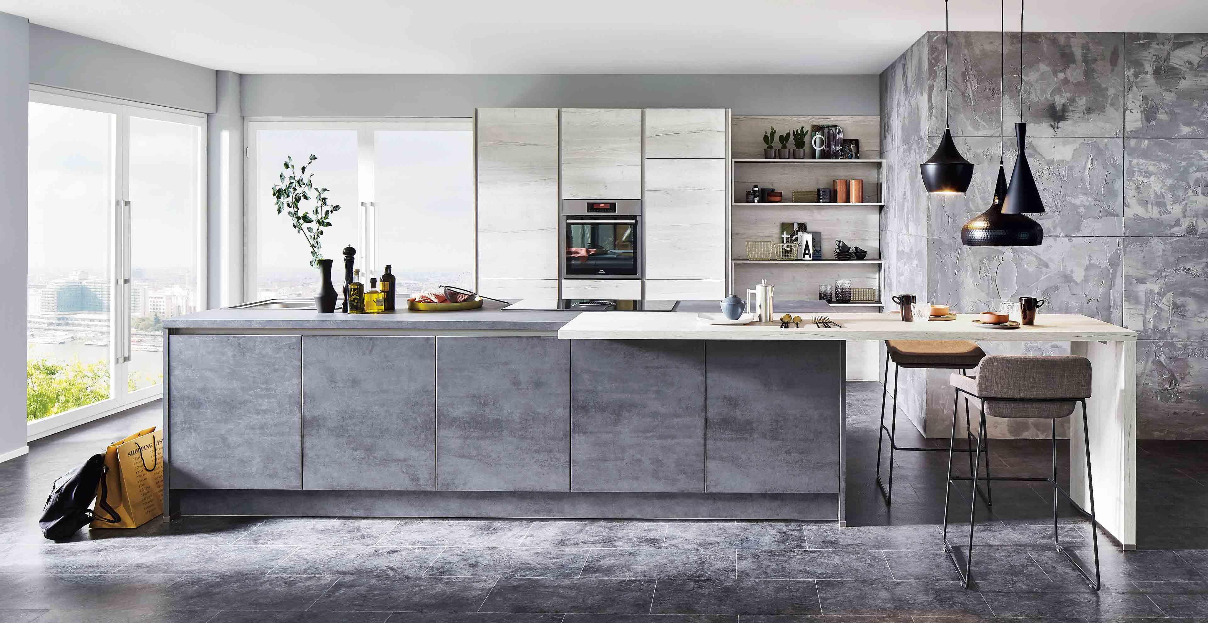 Beton in der Küche  Marquardt Küchen
