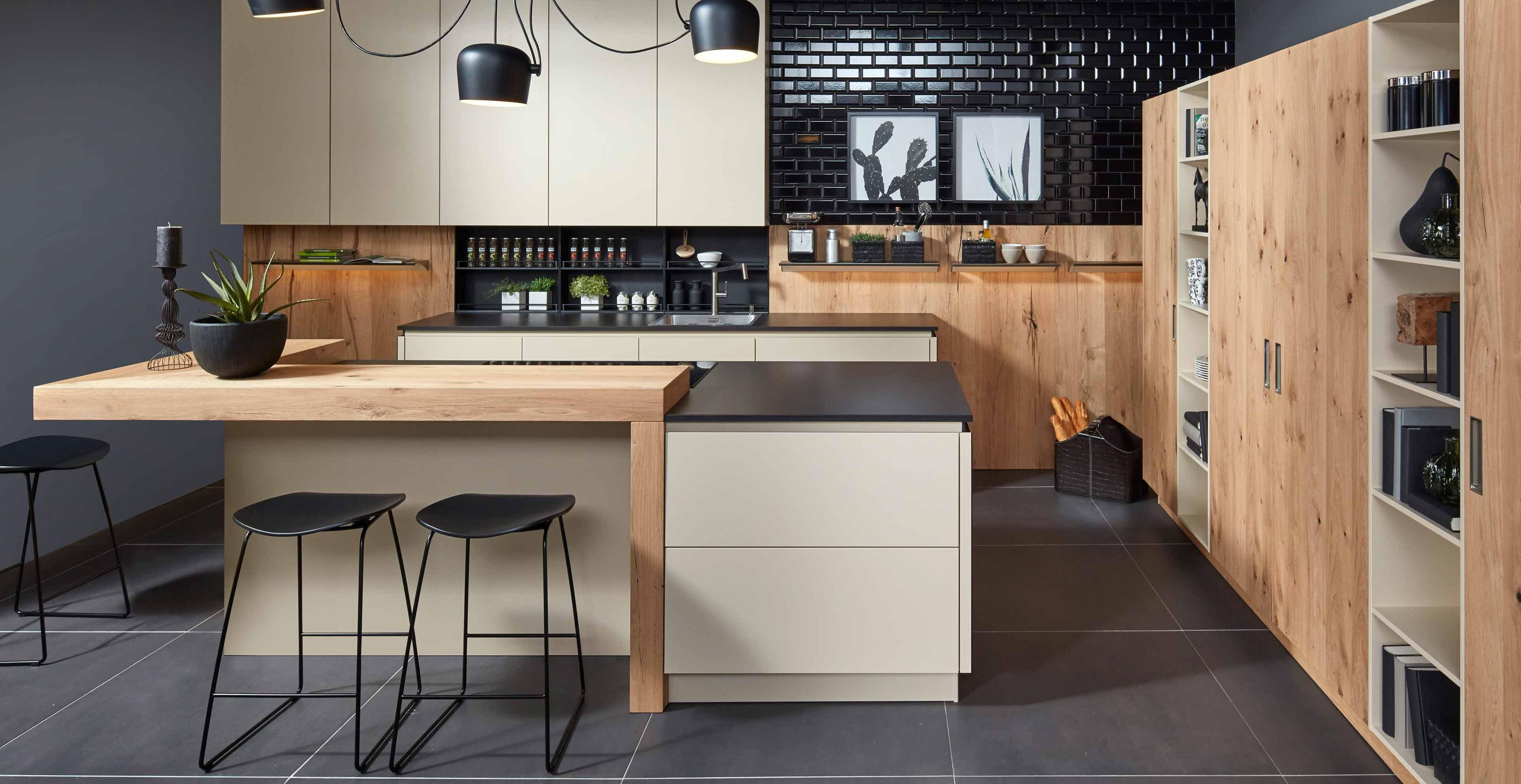 Holz in der Küche  Marquardt Küchen