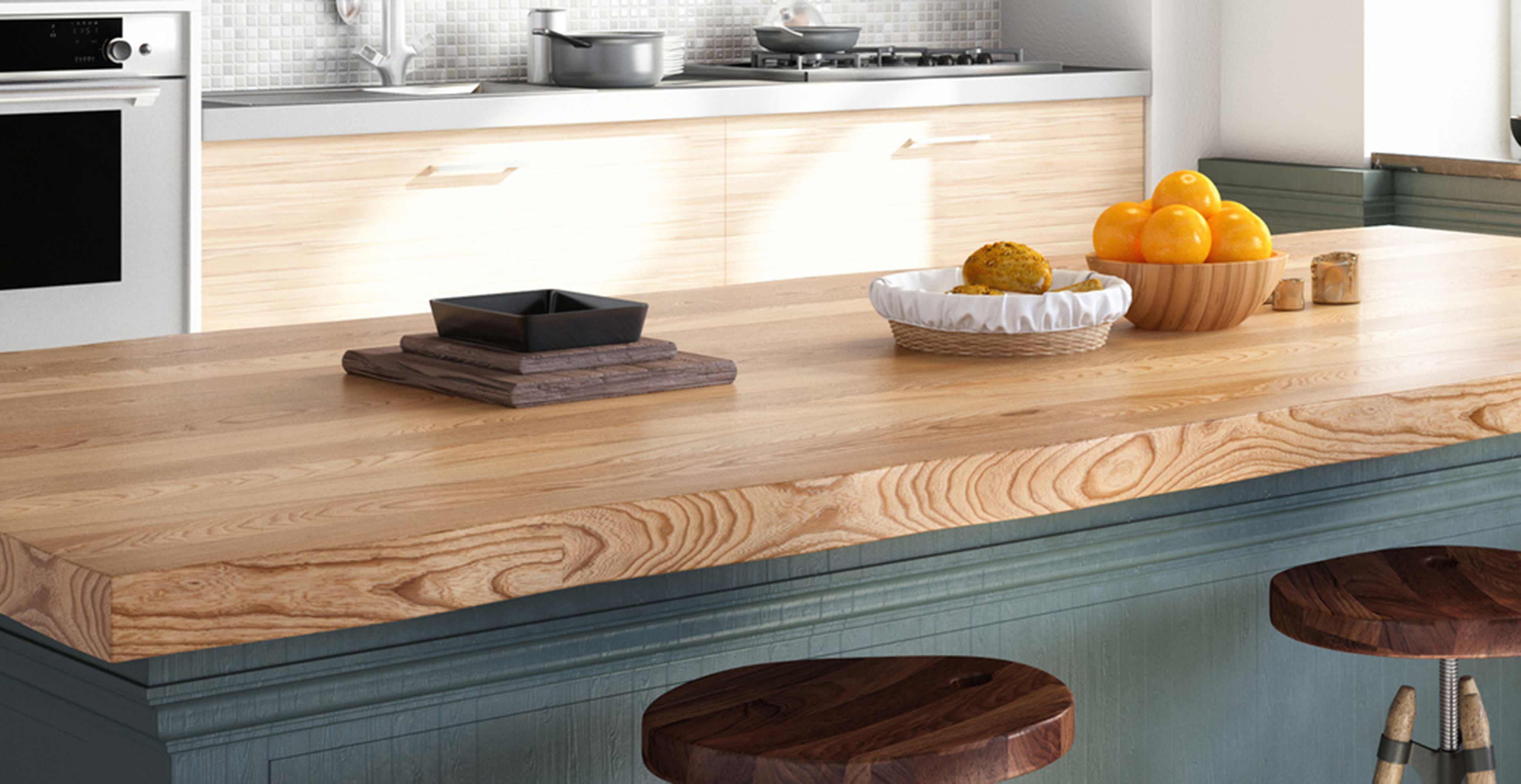 Massivholz Arbeitsplatten - Marquardt Küchen