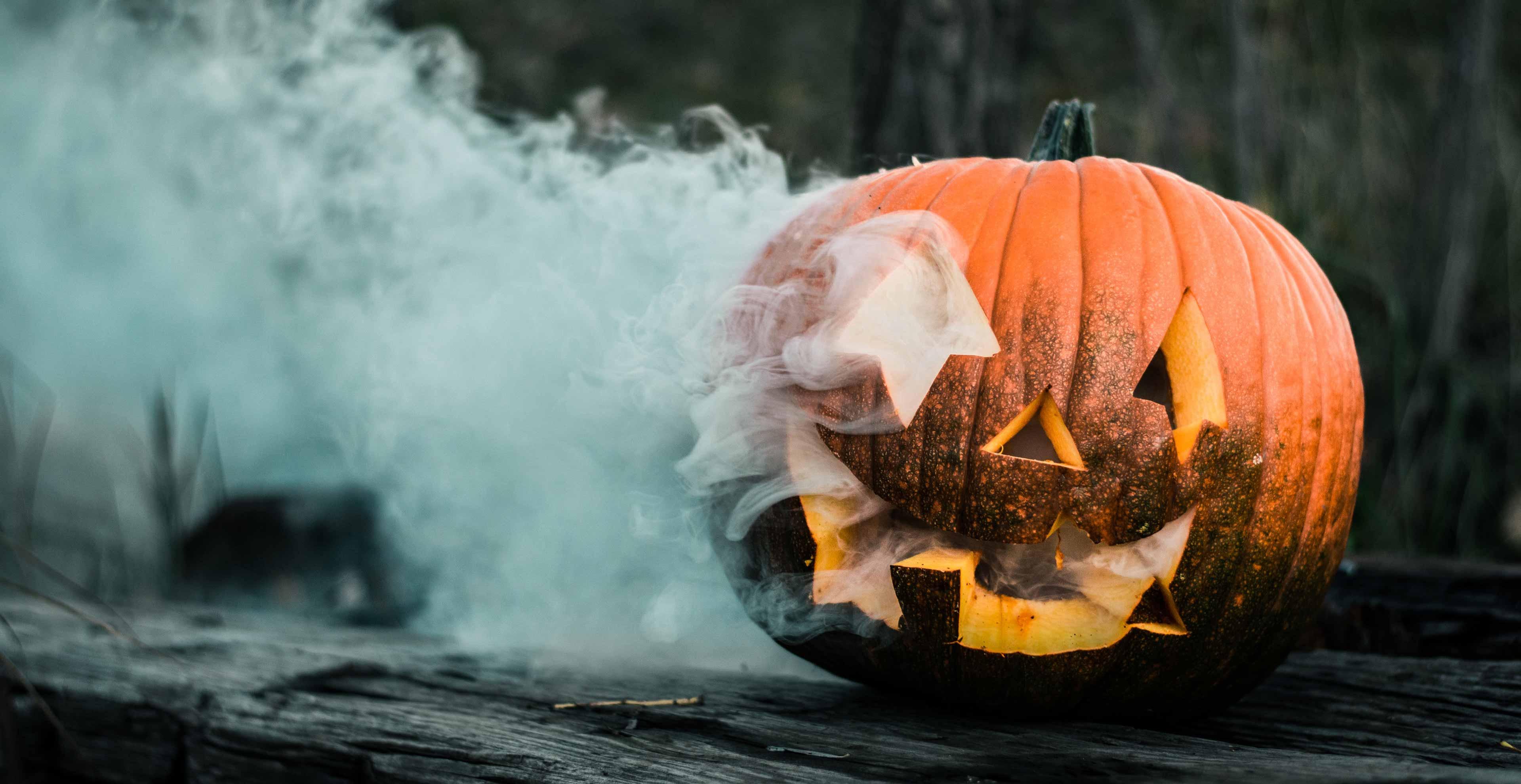 Anleitung Halloween Kürbis schnitzen