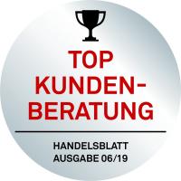 Auszeichnung Beste Händler Kundenberatung Handelsblatt