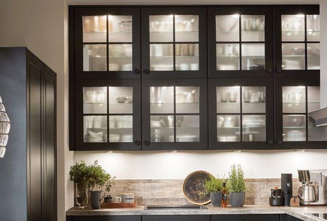 schwarze Landhausküche Highlight 2