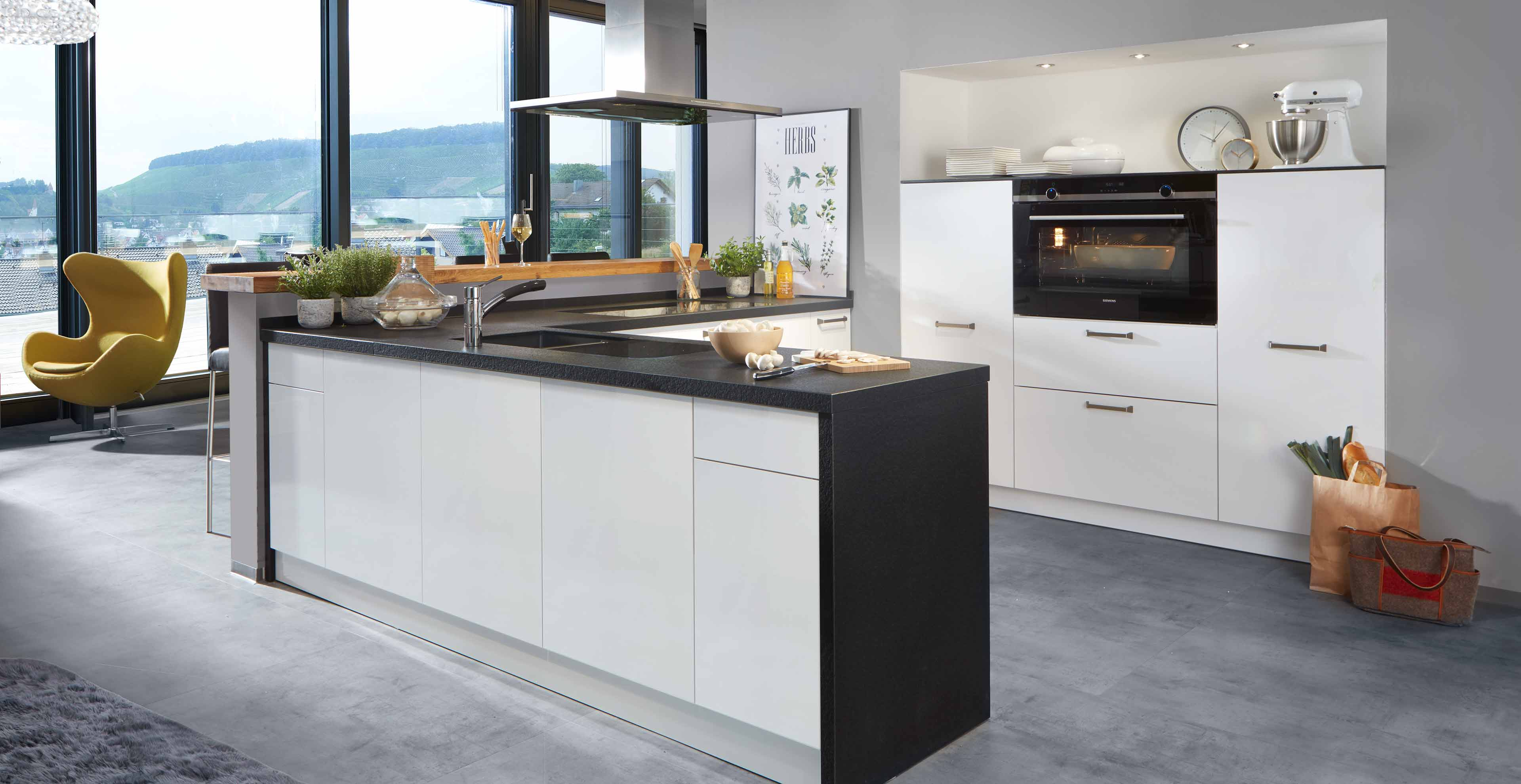 Klassik Küche: zeitlos und modern mit Granit   Marquardt Küchen